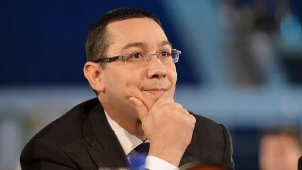 Ponta: Guvernul va aproba saptamana viitoare legea descentralizarii si bugetul pe 2014