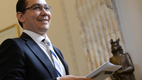 "Ponta: Guvernul vrea sa aiba o atitudine mai ""business-friendly"" cu mediul de afaceri"