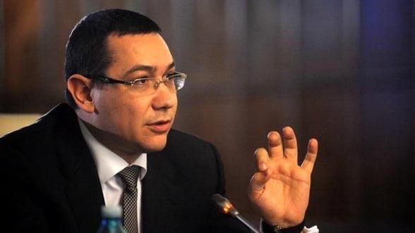 Ponta: Mergem, treptat, spre reducerea TVA si la alte produse alimentare
