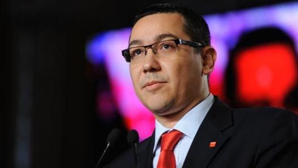 Ponta: Modificarea Constitutiei, doar dupa consultarea Comisiei de la Venetia