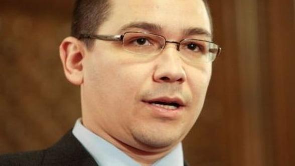 Ponta: Nu am cerut nimic FMI