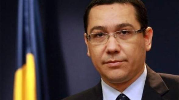 Ponta: Nu m-ar deranja la Oltchim nici Gazprom, nici Dan Diaconescu