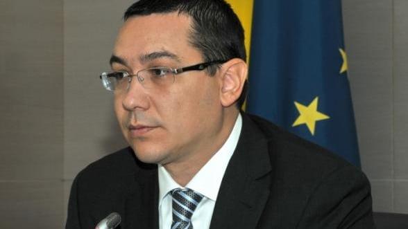 Ponta: Nu vreau circ la privatizarea CFR Marfa. Trebuie repuse in circulatie Intercity-urile