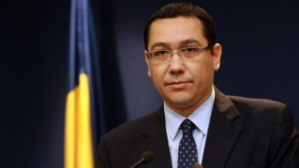 Ponta: Orice ban pe care il dam la Oltchim este blocat de creditori