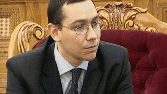 Ponta: Pana in iunie indeplinim criteriul privind arieratele, altfel nu intram in boardul FMI