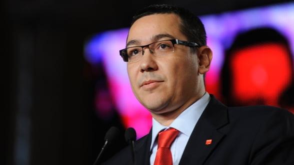 Ponta: Pentru bugetul pe 2013 avem in vedere o scadere a deficitului la 1,7-1,8%