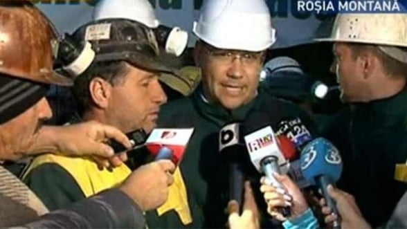Ponta: Probabil Rosia Montana Gold Corporation a cumparat politicieni, dar nu am date