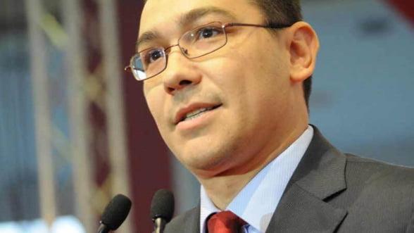 Ponta: Rata de absorbtie a fondurilor europene, de 30% in 2013, va fi atinsa