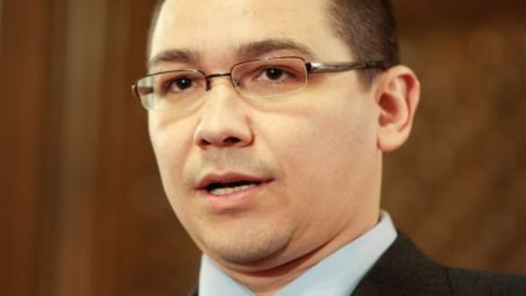 Ponta: Romania ar trebui sa aiba si in 2013 un acord cu FMI