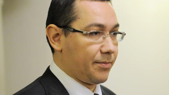 Ponta: Romania nu se poate dezvolta doar prin relatiile economice cu UE