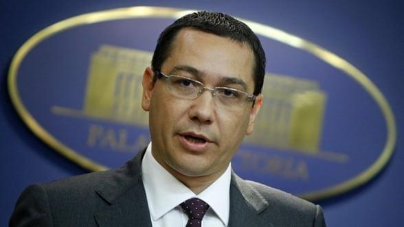 Ponta: Romania rezista la o accentuare a regimului sanctiunilor din partea Rusiei