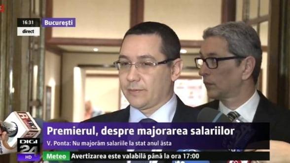 Ponta: Romania se va imprumuta pe piata americana cu dobanzi sub 6%