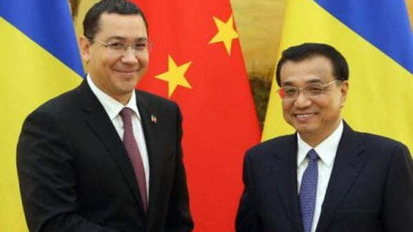 Ponta: Romania si China analizeaza proiectul unei linii de mare viteza Bucuresti - Iasi - Chisinau