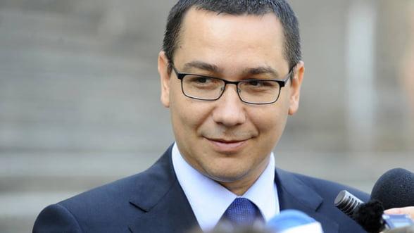 """Ponta: Romanii trebuie convinsi ca """"energia curata"""" inseamna costuri mai mici"""