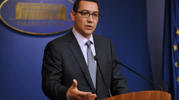 Ponta: Scumpirea gazelor nu face parte din calendarul de liberalizare a preturilor
