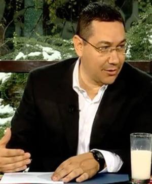 Ponta: Si in acest an iesim pe plus cu agricultura
