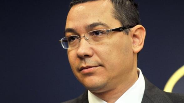Ponta: Sper ca bugetul sa intre in vigoare, altfel sunt probleme