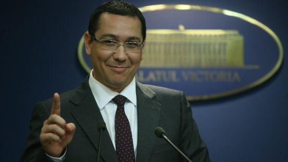 Ponta: Un referendum pentru Rosia Montana e o idee buna, dar dupa dezbaterea parlamentara