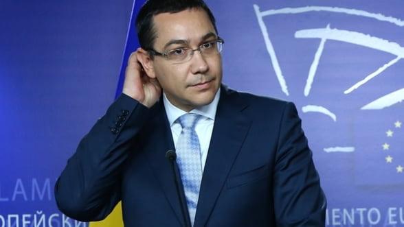 Ponta: Voi vizita una din platformele companiilor OMV Petrom si ExxonMobil