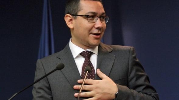 Ponta, despre Oltchim: Daca ofertele sunt nesatisfacatoare, instituim administrare speciala