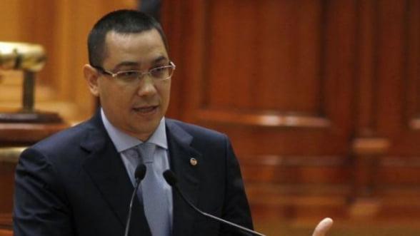 Ponta, despre bugetul UE: Trebuie sa aparam interesul national