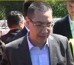 Ponta, in vizita la podul Agigea: Cand se vor termina lucrarile