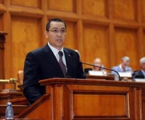 Ponta a fost salvat de colegi - Deputatii nu i-au ridicat imunitatea