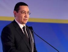Ponta anunta ca va prezenta Parlamentului directiile viitoare de dezvoltare