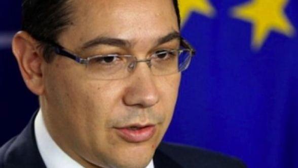 Ponta dezbate pretul energiei cu presedintele ArcelorMittal