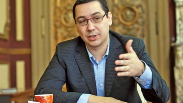 Ponta ii cere lui Constantin sa rezolve lipsa creditelor pentru proiectele UE din agricultura