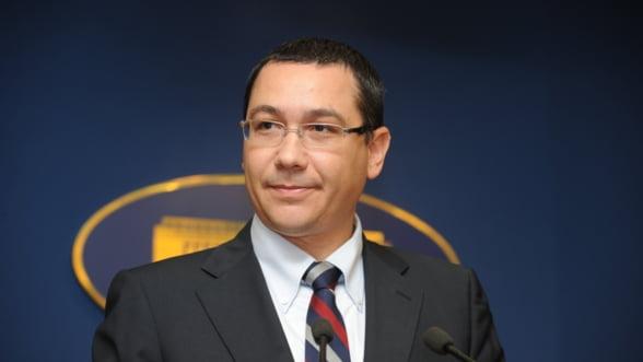 Ponta incurajeaza importul de mere din Moldova, inclusiv in UE