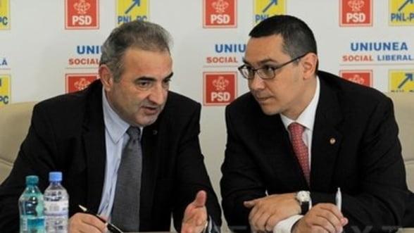 Ponta le cere ministrilor ca orice comunicare cu FMI sa se faca prin Florin Georgescu