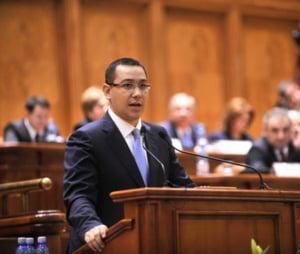 Ponta le cere parlamentarilor sa elimine obligativitatea Split TVA cand ajunge legea la ei