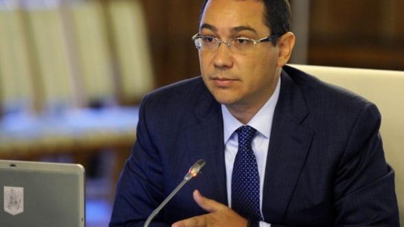 Ponta prezinta in Parlament proiectul bugetului pentru 2014
