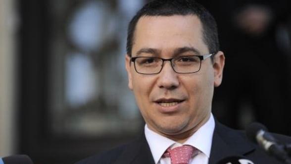 Ponta s-a intalnit cu oamenii de afaceri. Ce a declarat