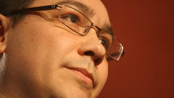 Ponta scuza universitarii de la taxa de solidaritate, dar nu renunta la idee