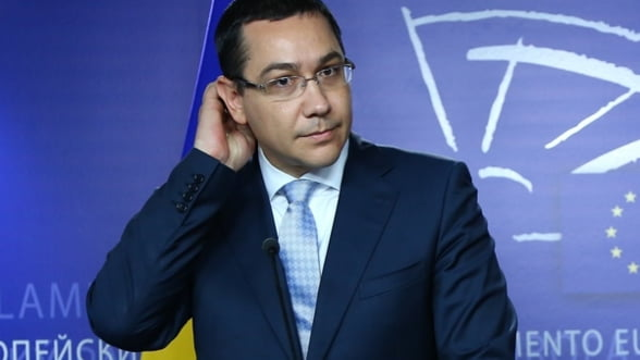 Ponta se intalneste cu Barroso - Ce vrea sa discute premierul roman