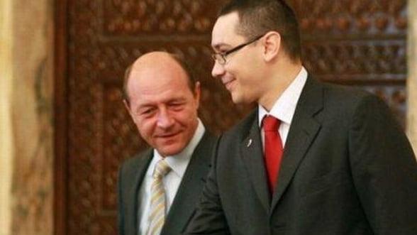 Ponta si Basescu au discutat la Cotroceni despre bugetul pe 2013