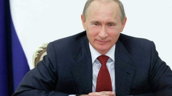 Popularitatea presedintelui rus Vladimir Putin atinge un nou record