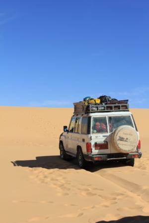 Porneste intr-o expeditie 4x4 in Egipt