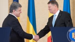 Porosenko: Sustinem initiativa Romaniei de creare a unei flote comune NATO la Marea Neagra
