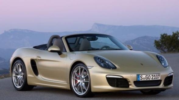Porsche dezvaluie noua generatie Boxter