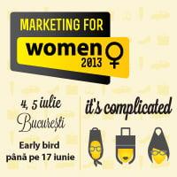 Portretul consumatoarelor din Romania, dezbatut la Marketing for Women 2013
