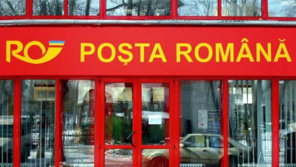 Posta Romana: Profit brut de 1,4 mil euro in ianuarie