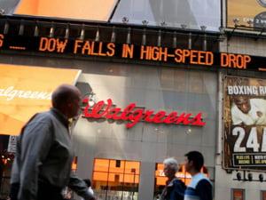 Prabusirea indicelui Dow Jones, investigata de autoritati