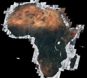 Premiera: Continentul negru, fotografii detaliate din satelit (Galerie foto)