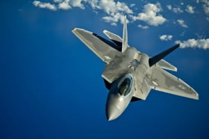 Premiera in Romania: Avioane F-22 Raptor, la baza militara de la Mihail Kogalniceanu