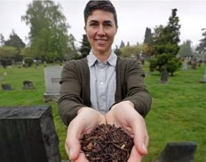 Premiera in SUA: Statul Washington legalizeaza compostul uman. Legea intra in vigoare la anul
