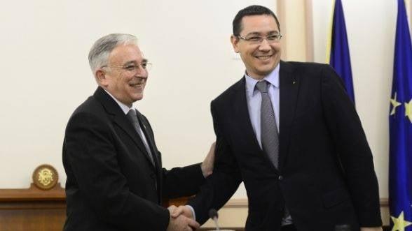 Premiera in acordul cu FMI: Discutiile vor avea loc la Bruxelles si fara participarea Presedintiei