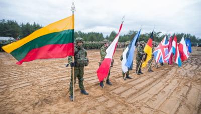 Premiera in zona Balticii. Exercitiu NATO la granita dintre Polonia si Lituania